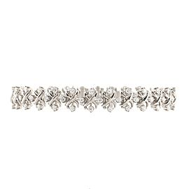 Tiffany & Co. Schlumberger Lynn Bracelet Platinum with Diamonds