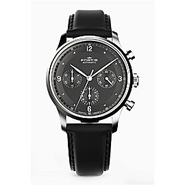 Fortis Black Black Calfskin Leather Strap 904.21.11 L.01 Watch