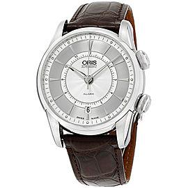 Oris Artelier 90876074091LSBRN 43mm Mens Watch