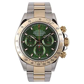 Rolex Daytona 116523 18k Two Tone Stainless Steel 40mm Mens Watch