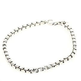 TIFFANY & Co 925 Silver Venetian link bracelet TBRK-476