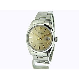 Rolex Date 1500 Vintage 34mm Mens Watch