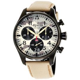Alpina Startimer Pilot AL-372MLY4FBS6 44mm Mens Watch