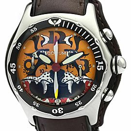 CORUM Bubble Dive Bomber Tiger Chronograph Watch 285.180.20