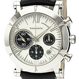 TIFFANY & Co Stainless Steel Atlas Chronograph Watch