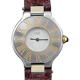 Cartier Ladies Must de Cartier 21 1250001 28mm Womens Watch