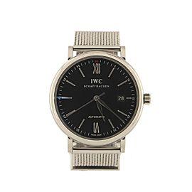 IWC Schaffhausen Portofino Automatic Watch Stainless Steel 38