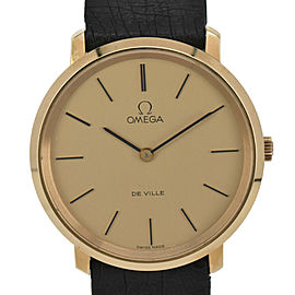 OMEGA de vill Cal.625 gold Dial GP/Hand Winding Men's Watch