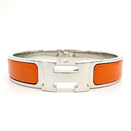 HERMES Brass/Cloisonne Clic Crac Bracelet
