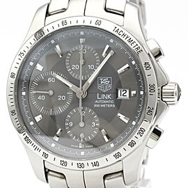 TAG HEUER Link Chronograph Steel Automatic Mens Watch #HK-379
