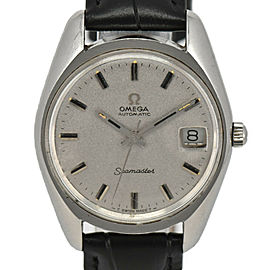 OMEGA Seamaster Cal.565 Silver Dial SS/Leather Automatic Men's Watch
