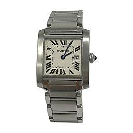Cartier Tank Francaise 2465 31mm Unisex Watch