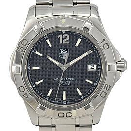TAG HEUER Aqua racer WAF2110.BA0806 black Dial Automatic Men's Watch