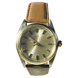 Rolex Air King 5501 Vintage 34mm Mens Watch