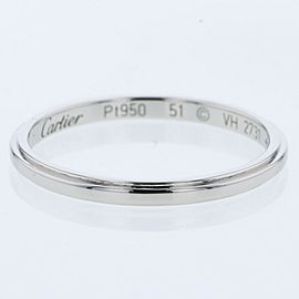 CARTIER 950 Platinum Damour Wedding Ring TBRK-561
