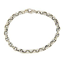 Tiffany & Co. Sterling Silver Oval Link Chain Bracelet
