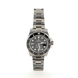 Rolex Oyster Perpetual Submariner Date Automatic Watch Cerachrom and Stainless Steel 40