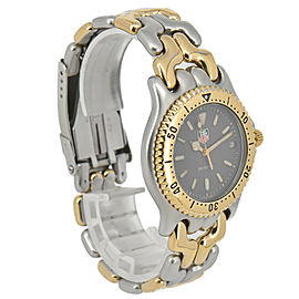 TAG Heuer S/el S95.206M Stainless & Gold Plated Quartz Men's Watch