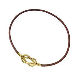 Hermes Atame Choker Bracelet
