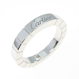 Cartier 18K White Gold Lanieres 1P ring TkM-267