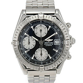 BREITLING Chronomat A13352 Chronograph Black Dial Automatic Men's Watch