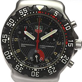 Tag Heuer Formula 1 Chronograph Stainless Steel Quartz 37mm Mens Watch