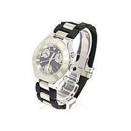 Cartier Must Stainless Steel Quartz 38mm Mens Watch