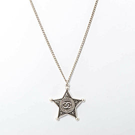 CHANEL Stainless Steel Necklace