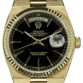 Rolex Day Date 18038 18K Yellow Gold Automatic Vintage 36mm Mens Watch