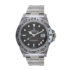 Rolex Explorer II 16570 Stainless Steel 40mm Mens Watch