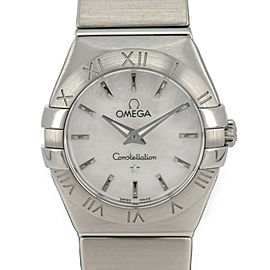 OMEGA Constellation 123.10.24.60.05 White shell Dial Quartz Ladies Watch