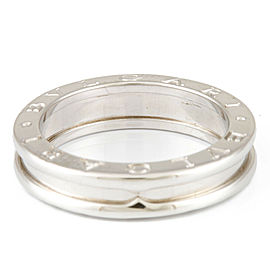 BVLGARI 18K White Gold B-zero.1 Ring CHAT-928
