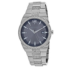 Bulova Classic 96B221 43mm Womens Watch