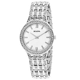 Bulova Crystal 96L242 32mm Womens Watch
