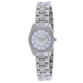 Bulova Crystal 96L253 23mm Womens Watch