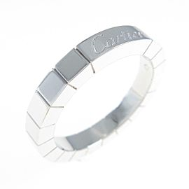 Cartier 18K White Gold Lanieres ring TkM-272