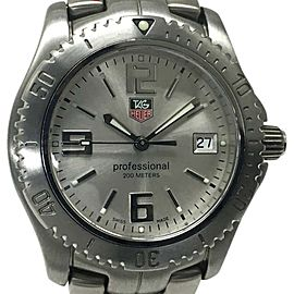 Tag Heuer Link WT1212 Stainless Steel Quartz 35mm Mens Watch