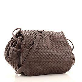 Bottega Veneta Flap Messenger Bag Intrecciato Nappa Small