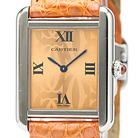 CARTIER W1019455 Tank Solo 2000 LTD Edition Quartz Watch HK-2522