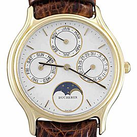 Bucherer Vintage 32mm x 36mm Mens Watch