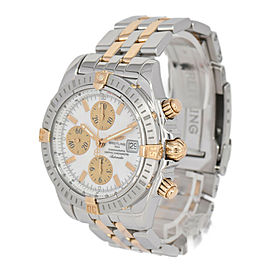BREITLING Chronomat Evolution Bicoro SS/K18 Automatic Men's Watch