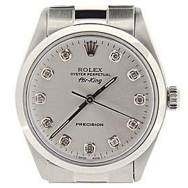 Rolex Air-King 5500 34mm Mens Vintage Watch