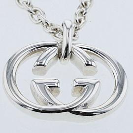 GUCCI Silver925 Interlocking G Necklace TBRK-391