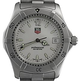 TAG Heuer 2000 WK1111-0 40mm x 44mm Mens Watch
