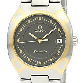 OMEGA Seamaster Polaris 18K Gold Steel Mens Watch