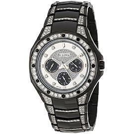 Bulova Crystal 98C102 43mm Mens Watch