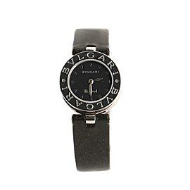 Bvlgari Bvlgari B.Zero 1 Quartz Watch Stainless Steel and Leather 22