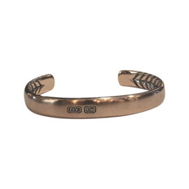 David Yurman Titian Streamline Copper Cuff Bracelet