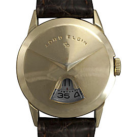Elgin National Watch Co. Direct Read 7775 31mm x 37mm Mens Watch