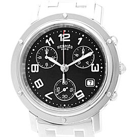 Hermes Clipper Mens CL1.910 38mm x 46mm Mens Watch